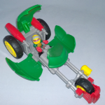 Half Shell Heroes Teenage mutant ninja turtles Stealth Bike with Racer Raph